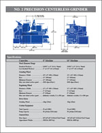 RSS Brochure Page 2 -- Specifications / Dimensions